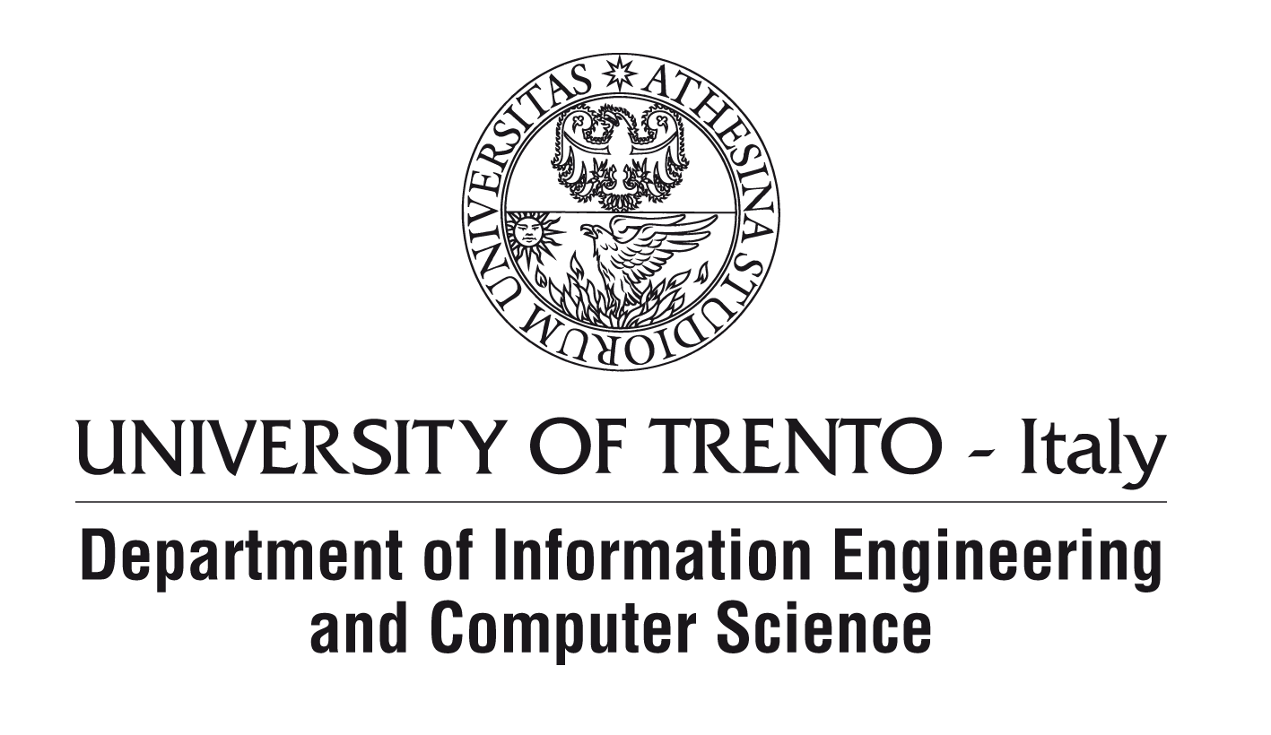 Department of Information Engineering and Computer Science of the University of Trento